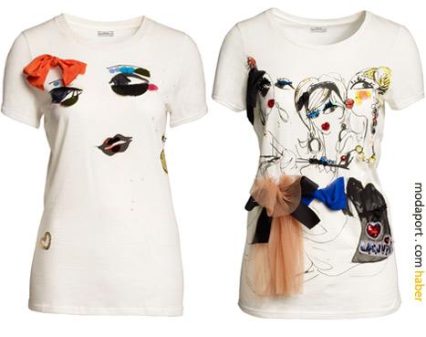 Beyaz tişörtlerin fiyatı 59,95 TL