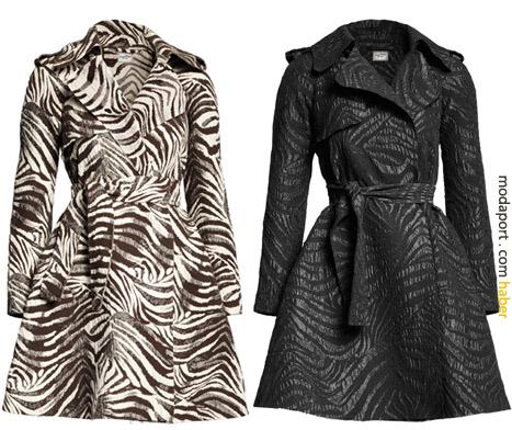 Açık ve koyu renkli Lanvin for H&M paltoların fiyatı 299 TL
