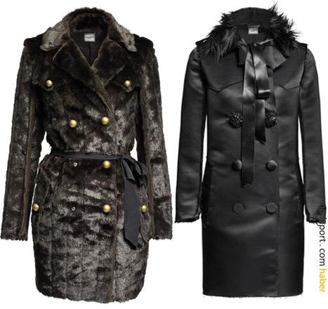 Hem asker modeli hem de tüylü paltonun fiyatı 299 TL