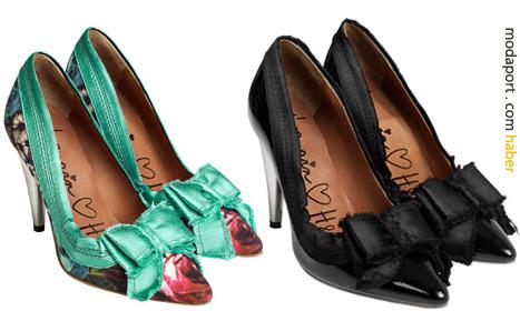 Lanvin ve H&M melezi topuklu ayakkabılar 199 TL