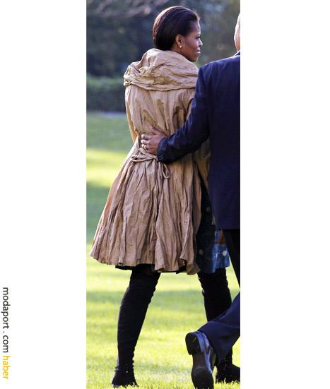 Obama'nın paltosu çok şık