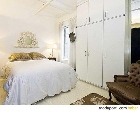 Küçücük yatak odası