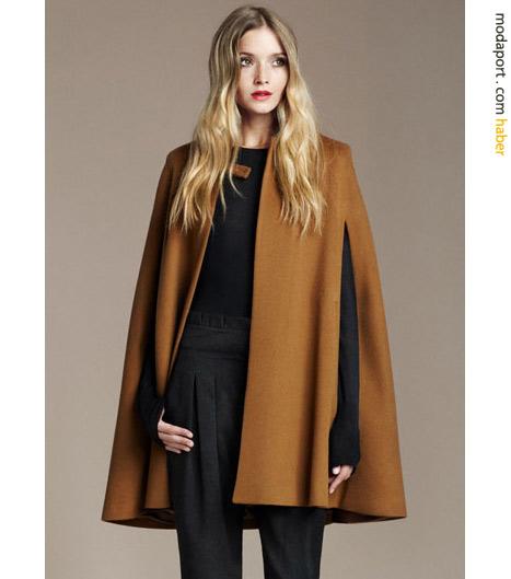 Zara pelerin ceket