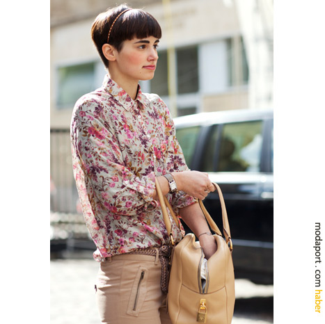 Paris sokak modasından: Çıtı pıtı stil