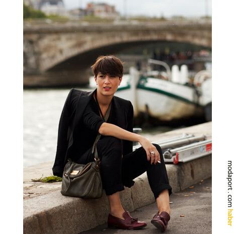 Paris Sokak Modasından: Pantolon ceket takımı