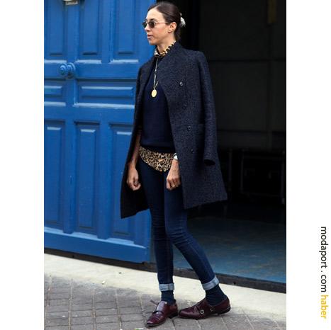 Paris sokak modasından: Gizli leopar deseni
