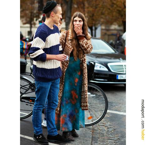 Paris sokak modasından: Hippi stili