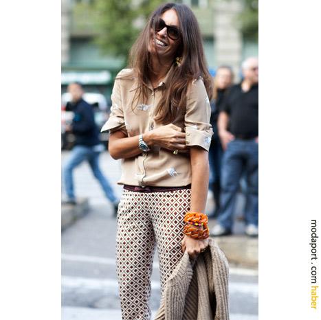 Milano sokak modasından: 70'ler