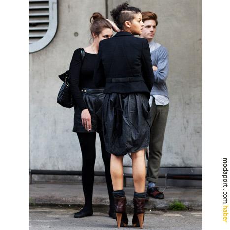 Londra sokak modasından: Genç kız stilleri