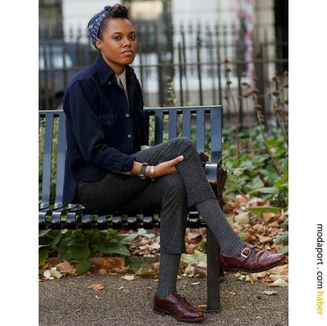 Londra sokak modasından: Erkeksi stil