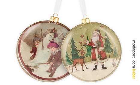 Noel babalı ağaç süsleri - Zara Home