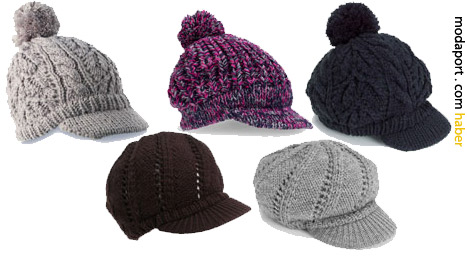 Accessorize'ın şapka stili örgü bereleri