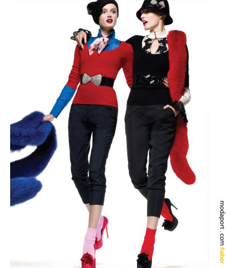 Holiday season için renkli kıyafetler