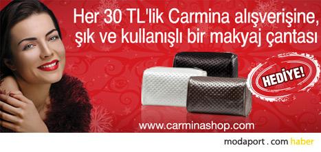 Carmina'nın online makyaj ürünleri satış sitesi Carminashop