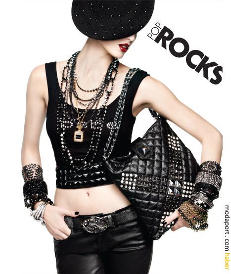 Rock stili kıyafet