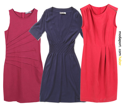 Ole koleksiyonundan soldaki fuşya elbise: 49,99TL. Diğerleri 59,99TL.