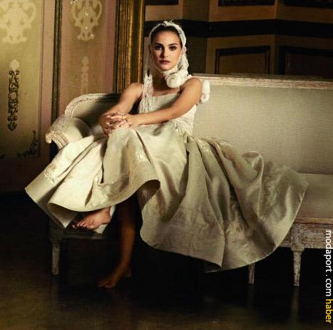 Natalie Portman, Vogue fotoğraflarında..