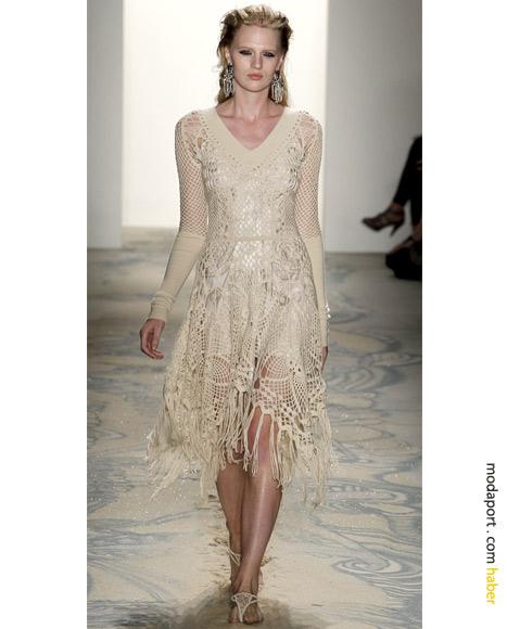 Jen Kao tığ işi elbise