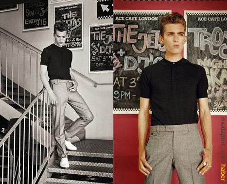 50'li yılların erkek giyim tarzı, bugüne taşınmış..