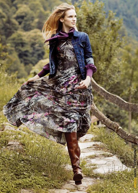 Herry'den çiçekli elbiseler