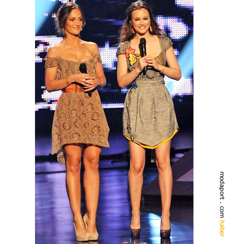 Minka Kelly ve Leighton Meester