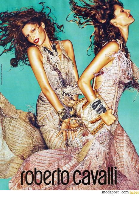 Mert & Marcus'un fotoğrafladığı Cavalli İlkbahar Yaz 2011 Reklamı
