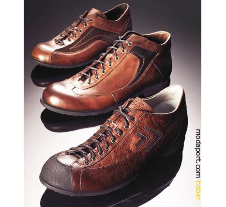 Deri erkek ayakkabıları