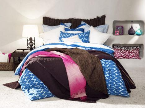 Zara Home Afrika stili yatak takımı