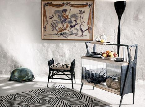 Zara Home'un Afrika stili halılarının hepsi Türkiye'ye gelecek mi acaba?