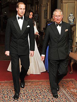 Prens William ve Prens Charles